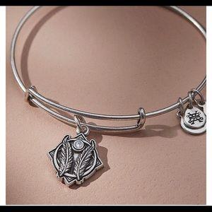 "Alex and Ani ""Godspeed"" charm bracelet"